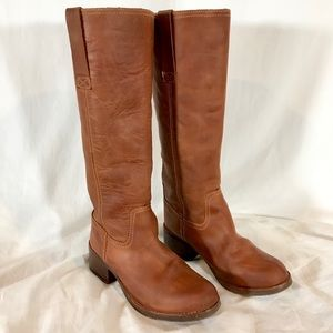 Steve Madden Natallee Tall Leather Riding Boots